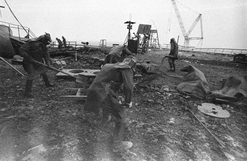 Bioroboti, Chernobyl