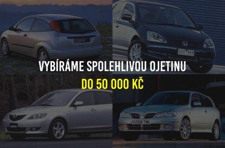 Hledáte spolehlivé auto do 50 000? Pak sázejte na benzín.