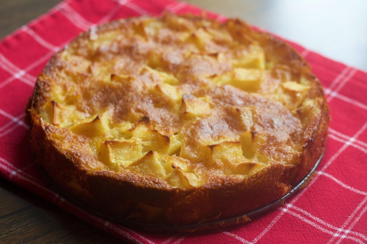 Recept na Kanadský jablkový koláč