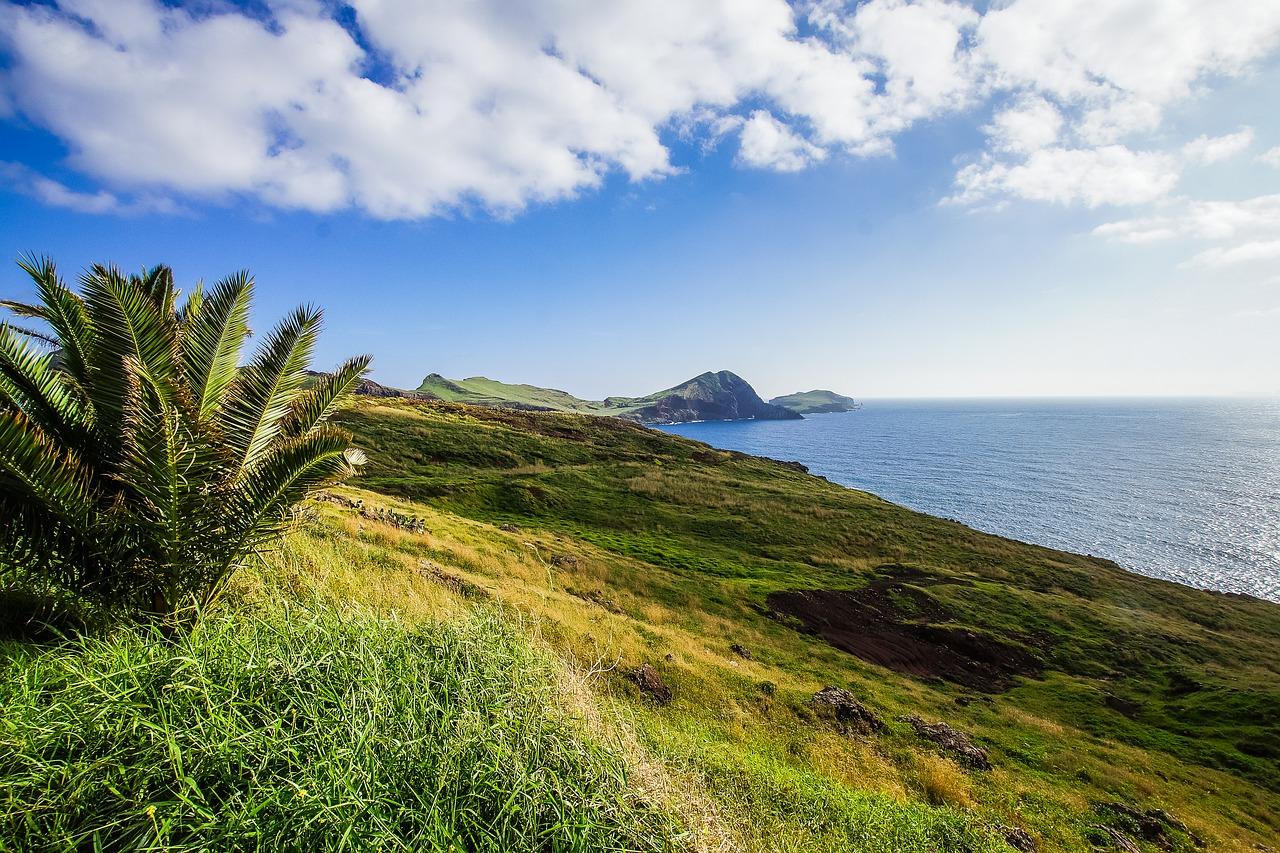 Madeira je trvale zeleným ostrovem