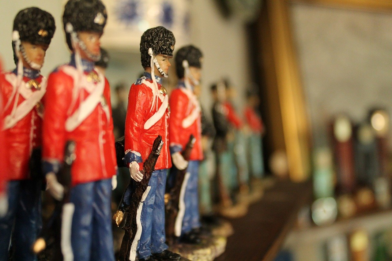 Odkud přišla armáda cínových vojáčků