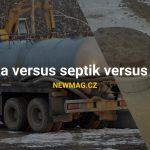 Jímka versus septik versus ČOV
